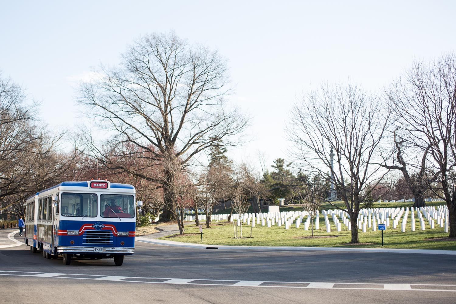 Arlington National Cemetery Bus