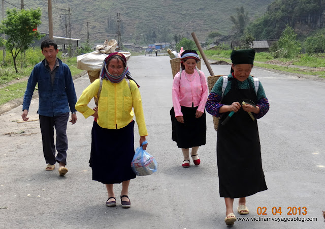 Le village traditionnel Lung Tam, Ha Giang