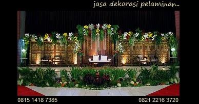 dekorasi pernikahan murah paket dekorasi pernikahan di