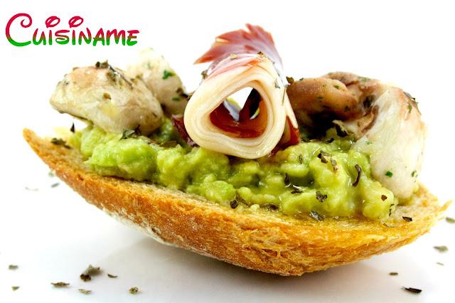 montaditos, tapas originales, recetas originales, recetas caseras, recetas de cocina, jamón ibérico, guacamole, humor