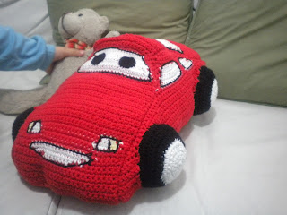Patron Amigurumi Car : AnGeLeS TeJiDoS: Amigurumi ------- Cars McQueen