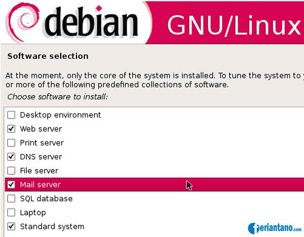 Cara Install Debian 5 Lenny Berbasis GUI Lengkap Dengan Gambar - Feriantano.com