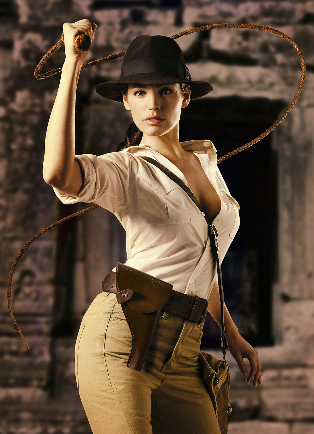 The United States of the Solar System, A.D. 2133 (Book Eight) - Page 4 Img-kelly_brook_indiana_jones