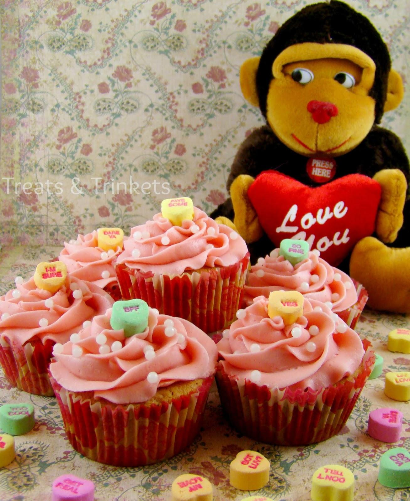 Strawberry Cupcakes Using White Cake Mix