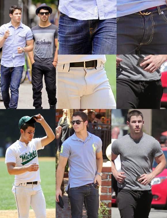 Nick Jonas bulge