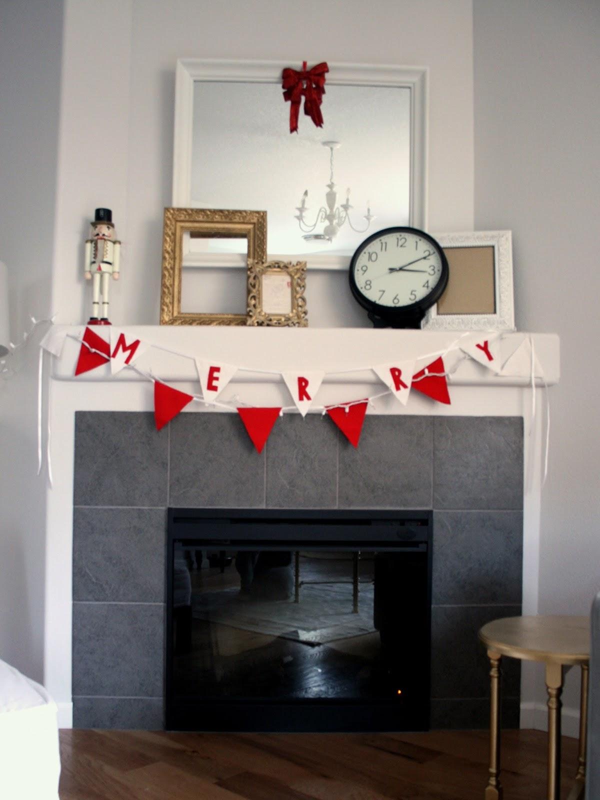 Easy DIY Christmas bunting flags / Create / Enjoy