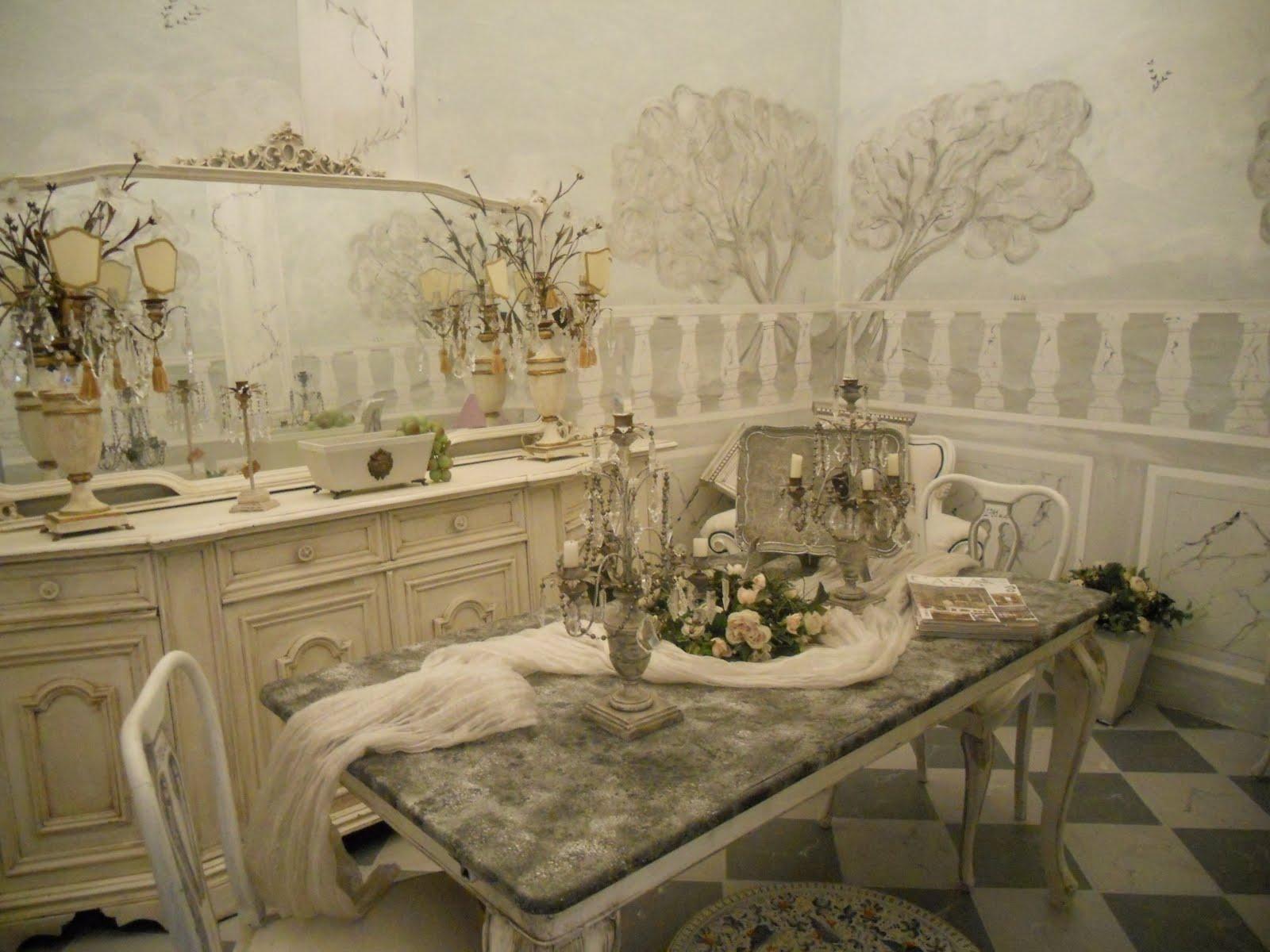 Gustavian Chic : Atelier D' Arte Shabby è Chic! La Stanza Da Pranzo  #8C6C3F 1600 1200 Sala Da Pranzo Scavolini