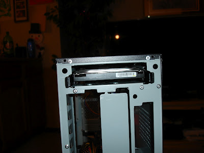 Hardrive in a slot