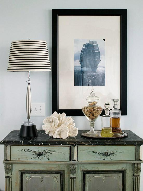 New Home Interior Design Arranging Accessories