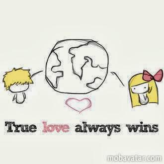 True Love always Wins ~ God is Heart