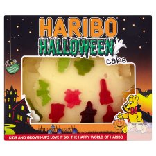 Tesco Halloween Cake Decoration : Grocery Gems: Haribo Spooky Ghosts & Haribo cake range