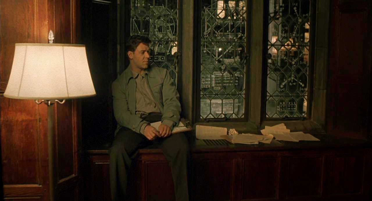 an analysis of the pub scene in the movie a beautiful mind A beautiful mind analysis a beautiful mind got an academy award in several categories (the only car chase and gun-fire scene in the movie)).