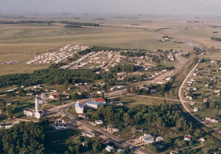 Vista aérea de nuestro Pueblo