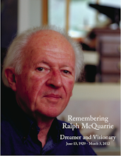 'REMEMBERING RALPH McQUARRIE: DREAMER AND VISIONARY' BOOK