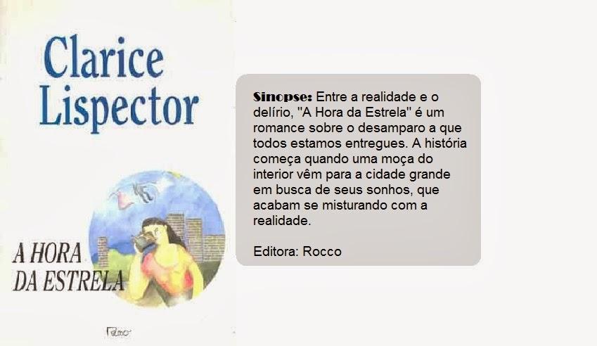 Tag Frases Do Livro A Hora Da Estrela Clarice Lispector