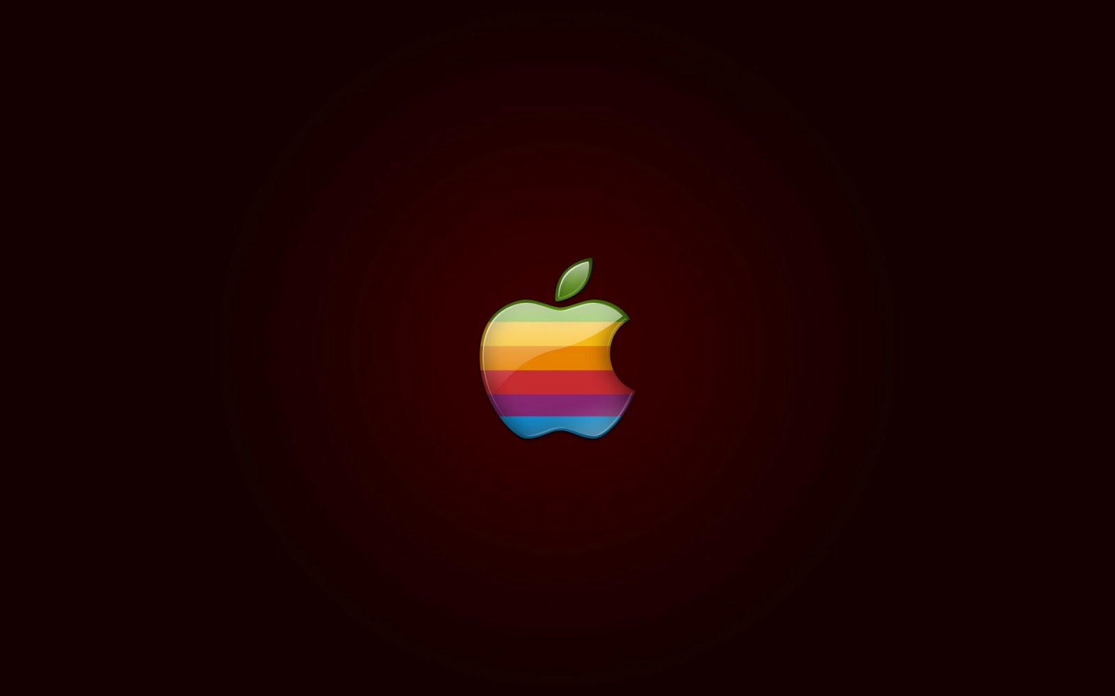Apple Colorful Logo