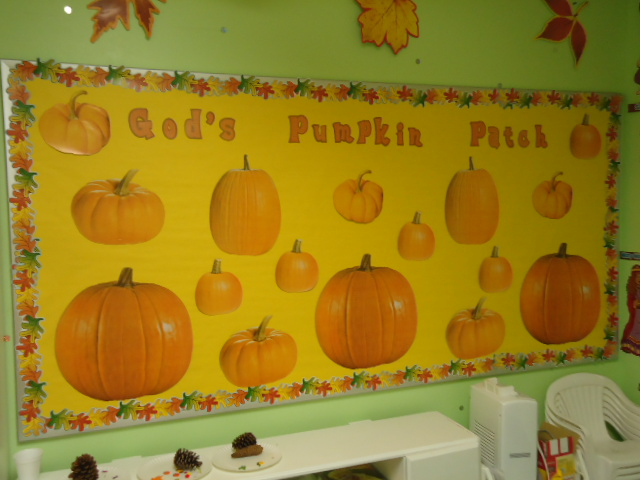 Fall Church Bulletin Board Sayings