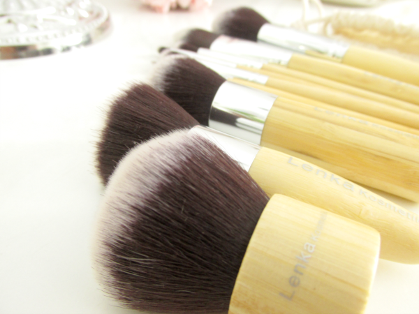 Lenka Kosmetik - 11 Professionelle Bambus Makeup Pinsel Set, Review, Testbericht, Erfahrungen