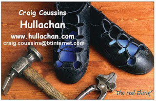 Hullachan shoes  Photo: courtesy Craig Coussins, Hullachans