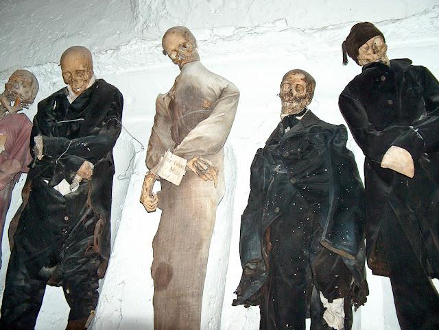 Οι κατακόμβες των Καπουτσίνων μοναχών στο Παλέρμο