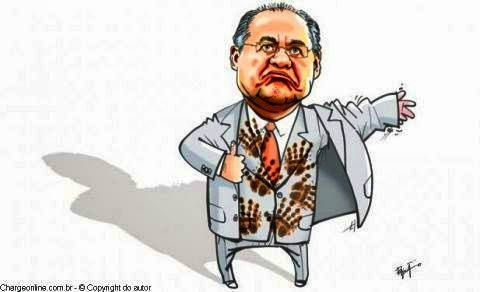 hienas corruptas, cínicas e insaciáveis em seu objetivo sórdido de saquear o Estado.