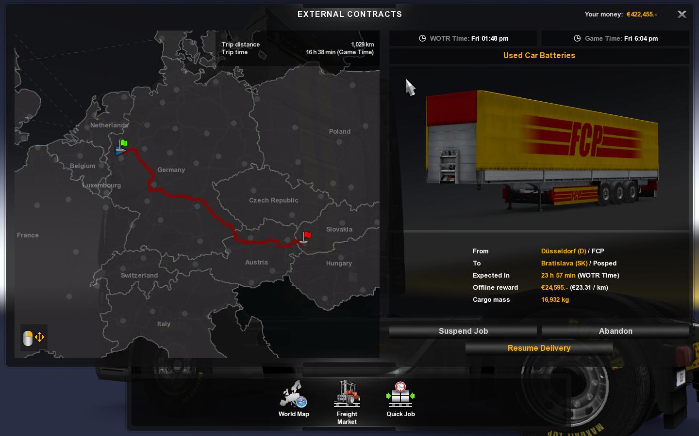 Euro Truck Simulator 2 - ETS 2 Mundo Mod