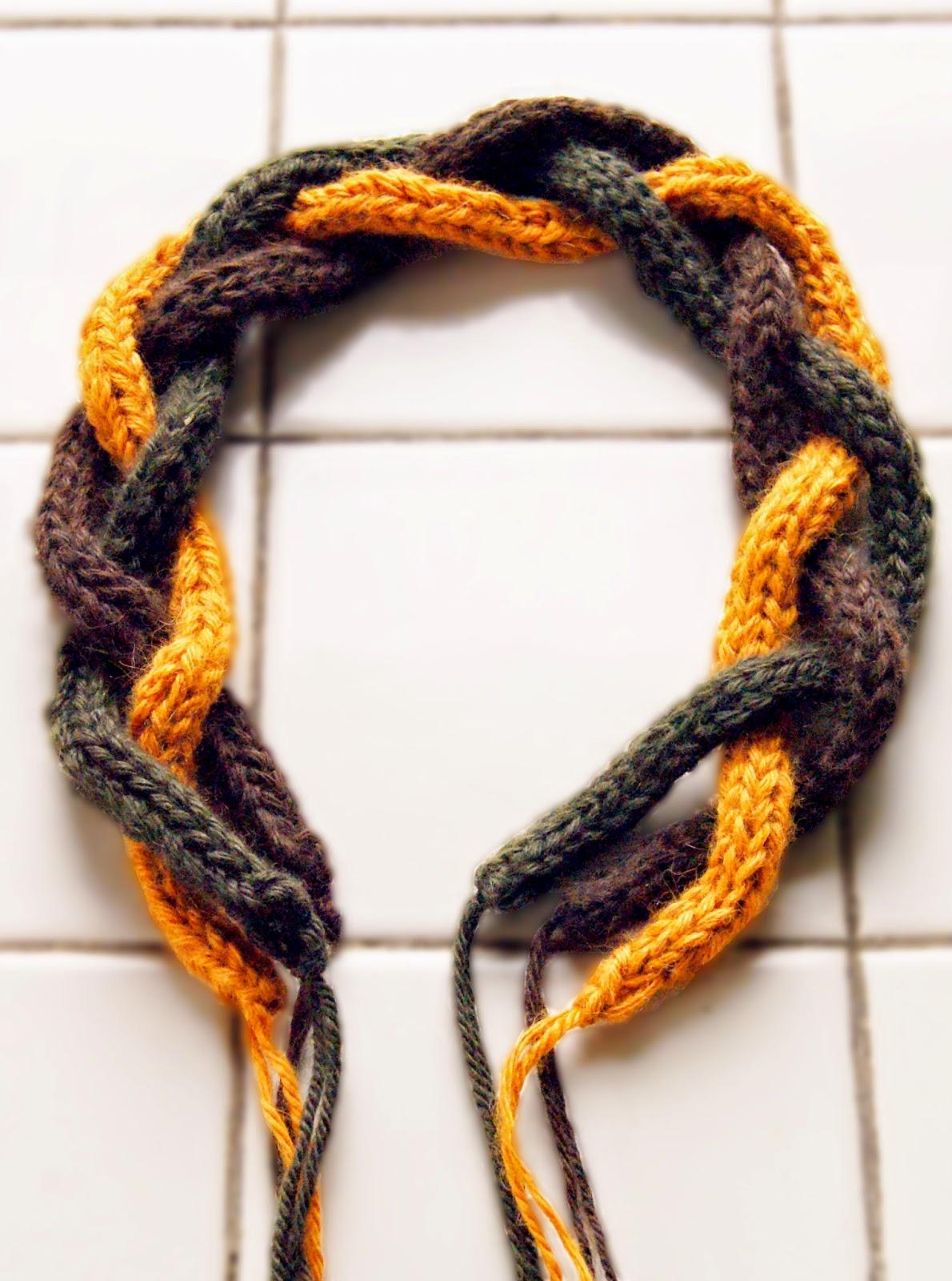 cordons i-cord tressés