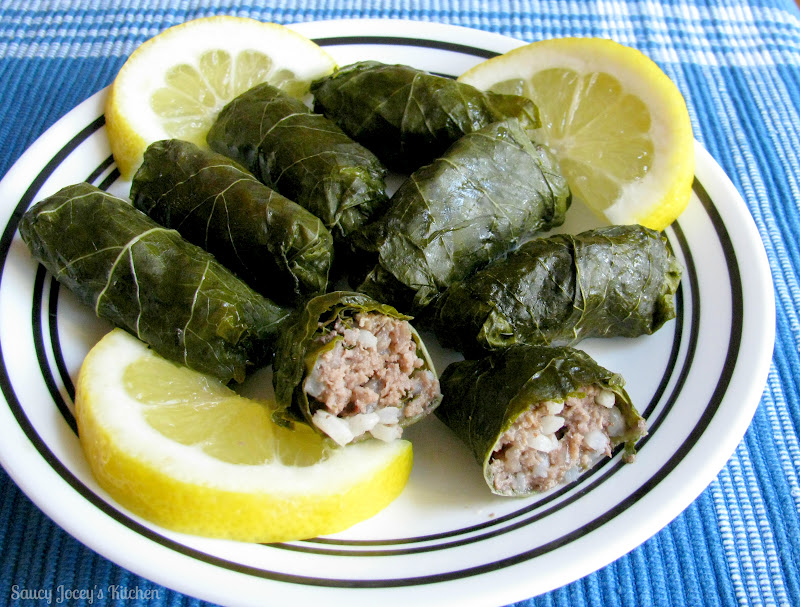 Dolmades (Stuffed Grape Leaves) Recipe — Dishmaps
