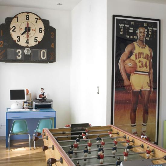 New Home Interior Design: Children's Room For Boy