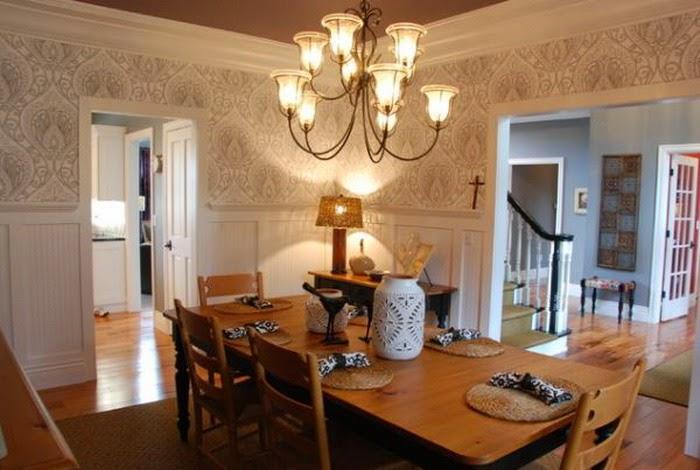 dining room wallpaper texture ideas