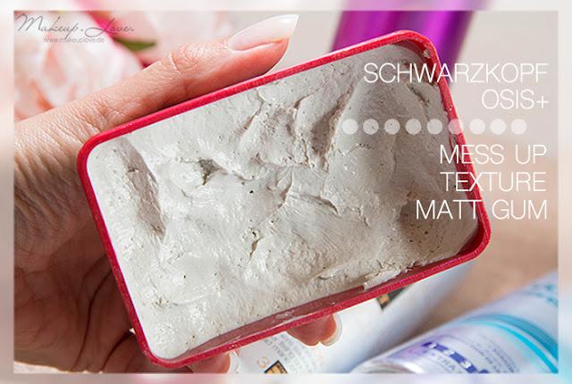 Styling Haarspray Haarpaste Volumenspray Volumen feines dünnes Haar Schwarzkopf osis+ mess up texture matt gum