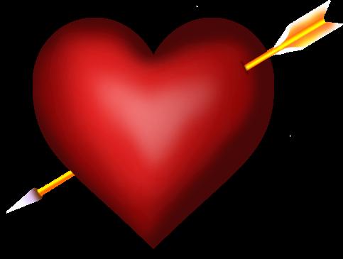 corazon flechado