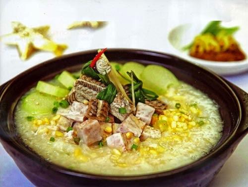Vietnamese Taro Eel Porridge (Chao Luon Khoai Mon)2
