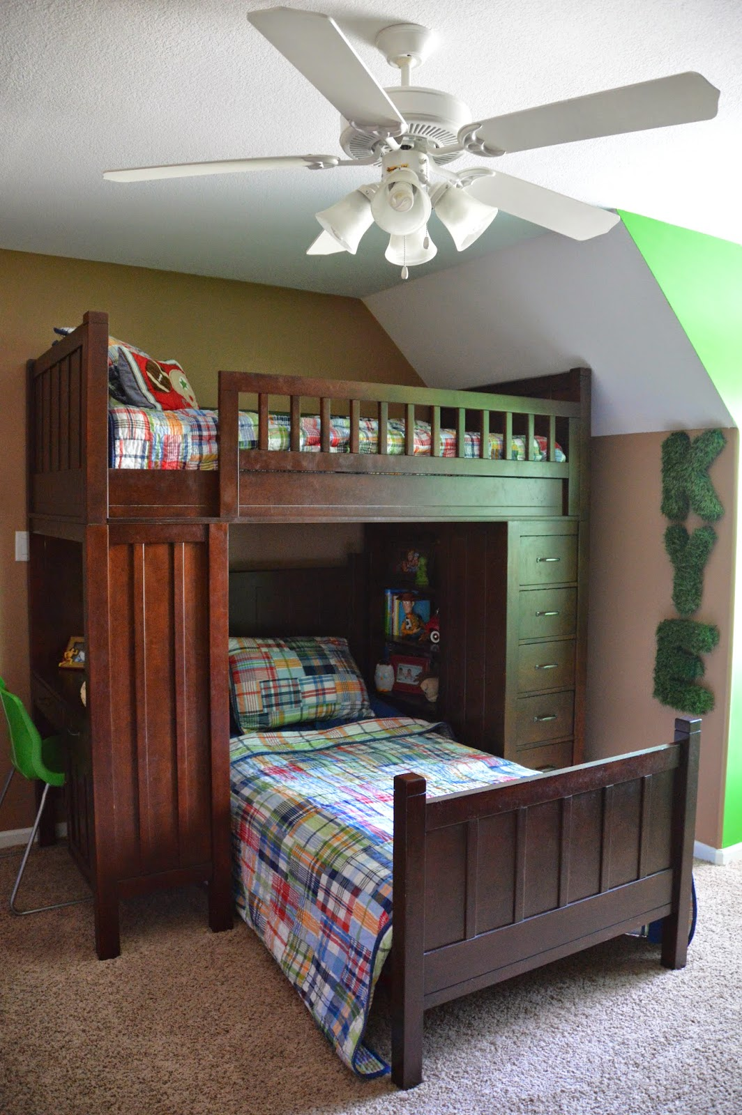 New For The Bedroom For Him The Journey Of Parenthood Tour Of Our Home Kyes Football Room