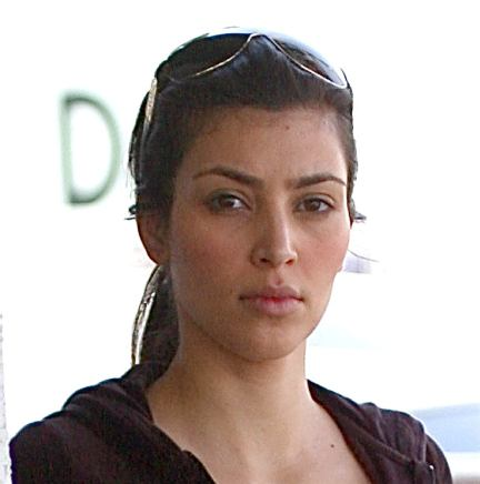kim kardashian without makeup. Kim Kardashian No Makeup