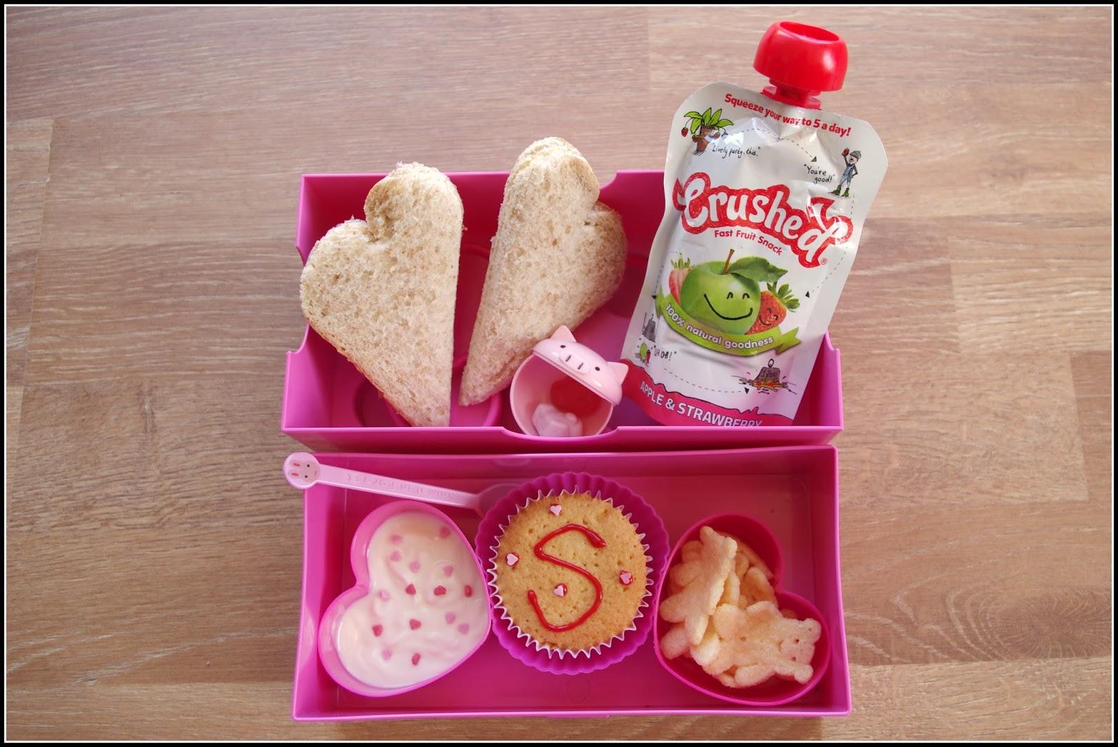 A heart shaped Bento lunchbox