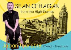 ショーン・オヘイガン ジャパン・ツアー2018