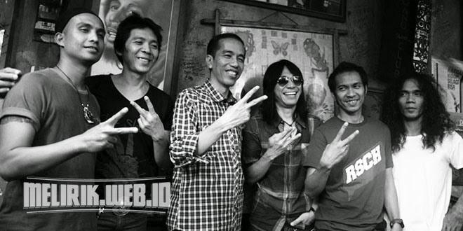 Daftar Artis Dukung Jokowi-JK | RevolusiMental - Salam Dua Jari Lirik