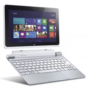 Iconia W510 dengan OS terbaru Windows 8