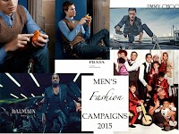 TOP 10: MEN'S FASHION CAMPAIGNS 2015