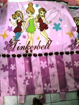 fans tinkerbell indonesia gorden hordeng warna ungu