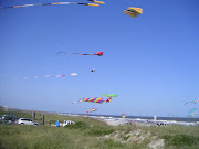 This is Amelia Island beach and the next few pics are kites that were flying . (fernandina fl )