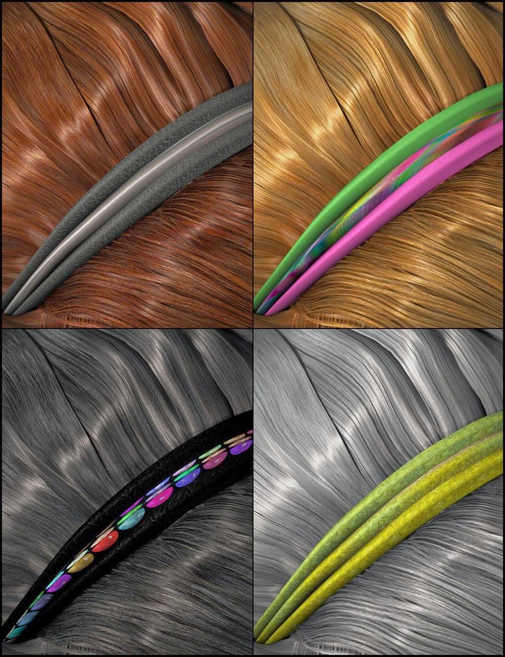 Couleurs pour cheveux Chic