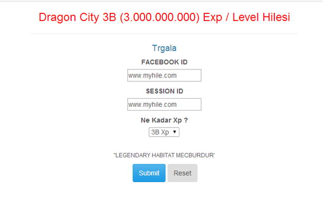 Dragon City 3B Yeni Exp / Level Hilesi 16.10.2014