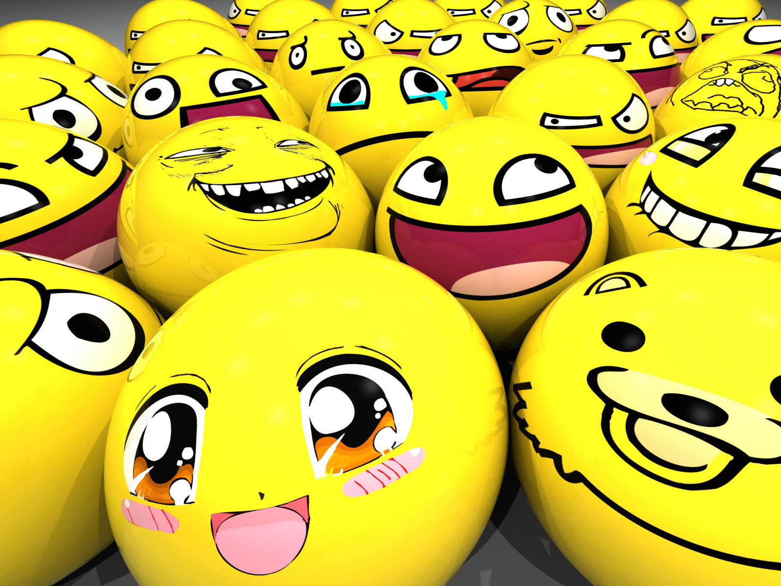 Wallpapers Smilies