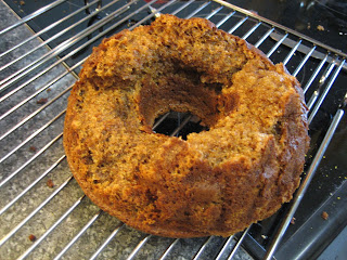 Photo of failed Bundt cake
