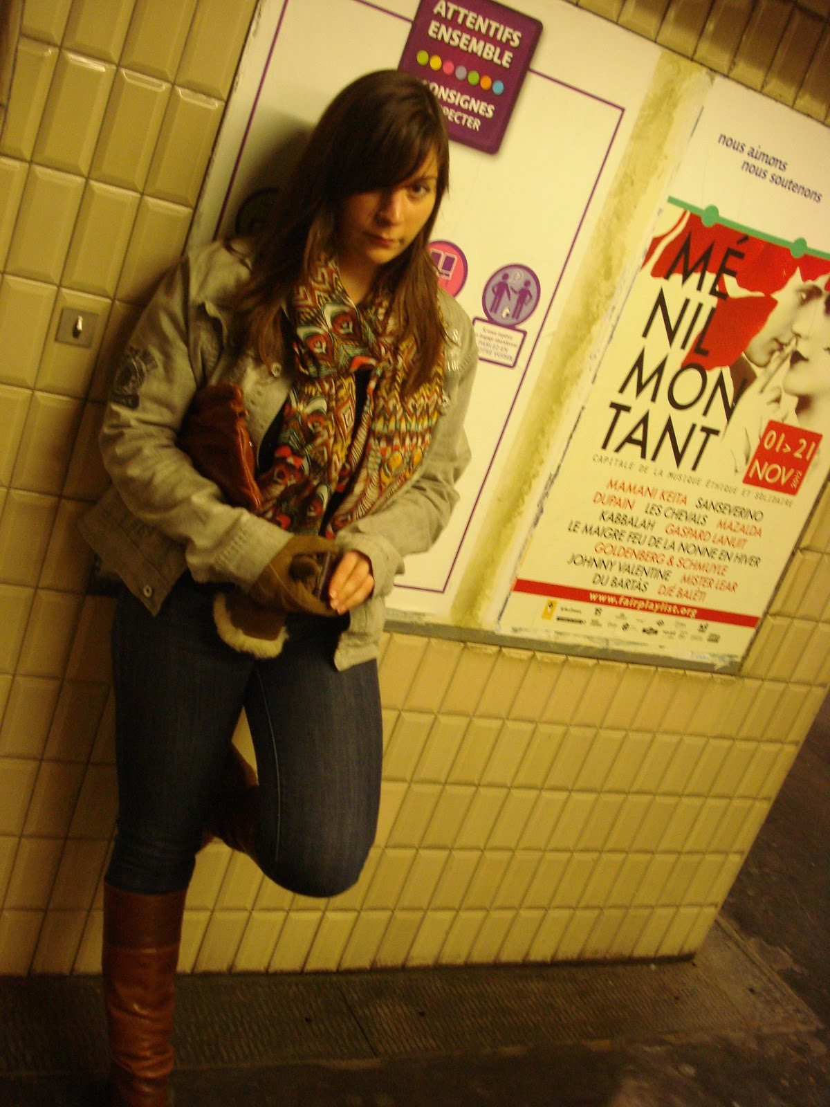 stylin' in the subway
