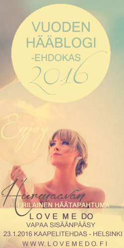Vuoden Hääblogi 2016 -ehdokkuus