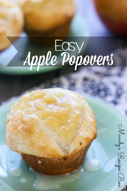 Easy Apple Popovers