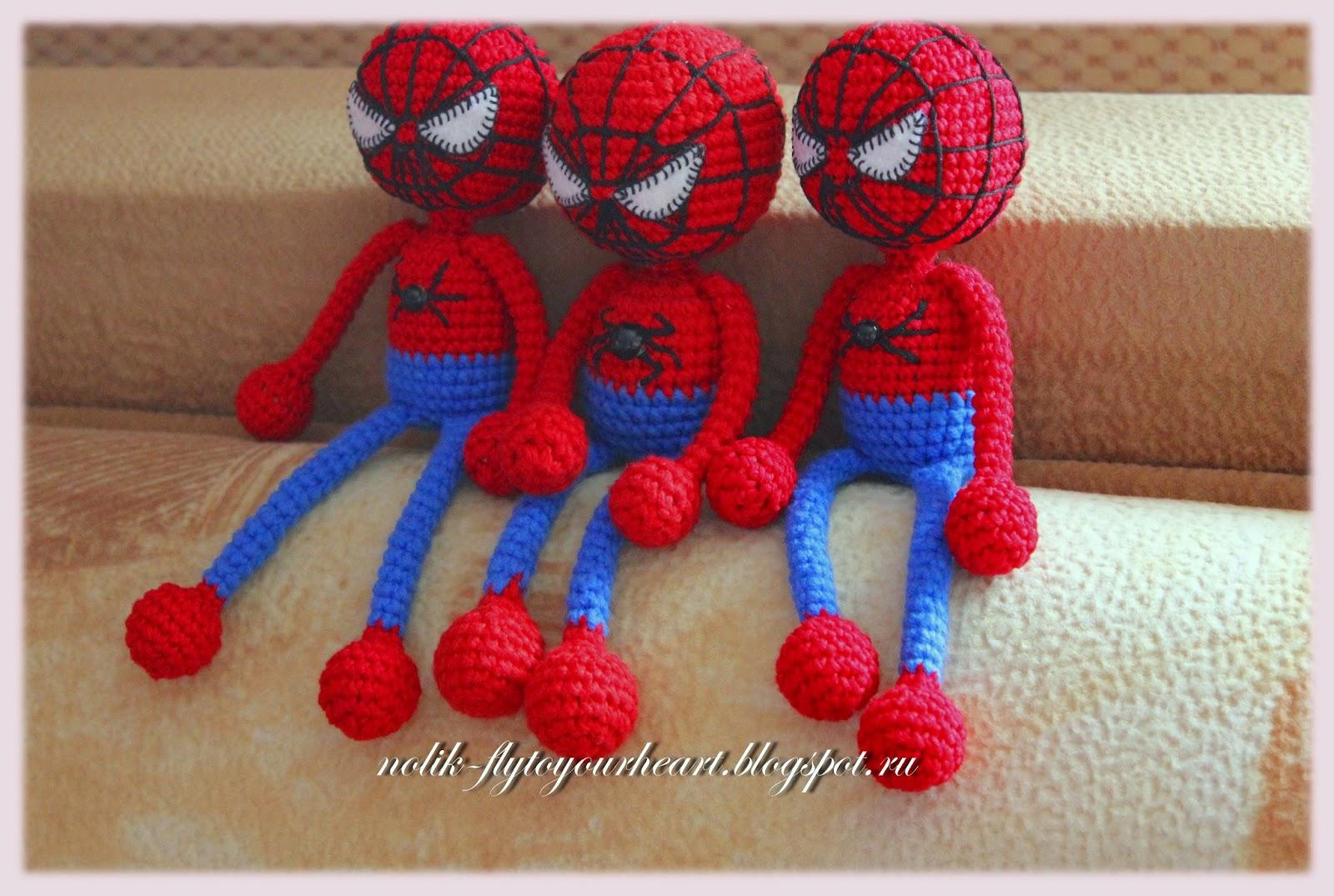 Вязаные игрушки супергерои схемы